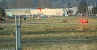 Auburn Municipal Airport (S50) - radio chatter indicated a coyote near the S end of 34 - by Wolf kotenberg