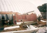 Wauchula Municipal Airport (CHN) - Bone yard at Wauchula. - by Terry L. Swann
