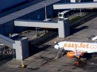 Liverpool John Lennon Airport, Liverpool, England United Kingdom (EGGP) - departing from Liverpool - by chris hall