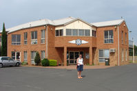 Tyabb Airport, Tyabb, Victoria Australia (YTYA) - Tyabb Airport and the Mornington Peninsula Aero Club Building - by Terry Fletcher