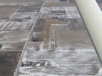 Ada Airport (0D7) - Looking NE from 2000' agl - by Bob Simmermon