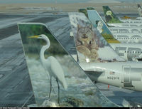 Denver International Airport (DEN) - Fantastic site - as you walk across the air bridge - by keith sowter