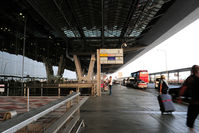 Suvarnabhumi Airport (New Bangkok International Airport), Samut Prakan (near Bangkok) Thailand (VTBS) - In front of Departure floor, passenger dropping area. - by BigDaeng