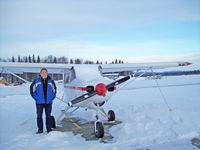 Talkeetna Airport (TKA) - New Years Day '09 - by Brad Babic