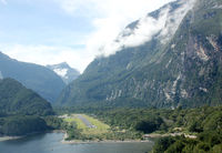 Minuteman Lake Seaplane Base (MFN) - Approaching Milford Sound. - by Andreas Müller
