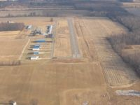 Ashland County Airport (3G4) - Runway 1 at Ashland, Ohio - by Bob Simmermon