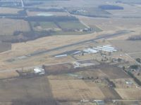 Galion Municipal Airport (GQQ) - Looking north from 2500' - by Bob Simmermon