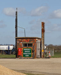 Lashenden/Headcorn Airport, Maidstone, England United Kingdom (EGKH) - The POL point. - by Martin Browne