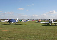Lashenden/Headcorn Airport, Maidstone, England United Kingdom (EGKH) - View over the airpark. - by Martin Browne
