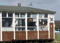 Lashenden/Headcorn Airport, Maidstone, England United Kingdom (EGKH) - The famous TIGER CLUB Hut. - by Martin Browne