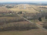 Ross County Airport (RZT) - Final for RWY 5 - by Bob Simmermon