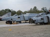 Duke Field,(eglin Af Aux Nr 3) Airport (EGI) - RF-4C Target Carcass  - by rupert2829