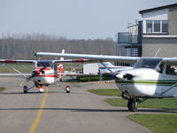 Teuge International Airport, Deventer Netherlands (EHTE) - Traffic at Teuge Airport - by Alex Smit