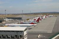 Vienna International Airport, Vienna Austria (LOWW) - Austrian Line up - by Andi F
