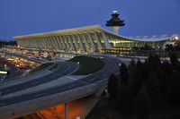 Washington Dulles International Airport (IAD) - Classic 1960's elegance.   - by concord977