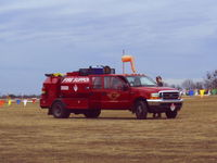 Granbury Regional Airport (GDJ) - 2004 fire season at Granbury Municipal - by Zane Adams