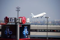 Tegel International Airport (closing in 2011), Berlin Germany (EDDT) - Snapshot on visitor´s terrace - by Holger Zengler