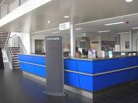 Lelystad Airport, Lelystad Netherlands (EHLE) - Info desk at Terminal Building - by Henk Geerlings