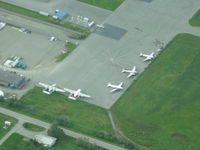 Palmer Municipal Airport (PAQ) - Classic airplanes on the ramp at Palmer - by Mike Wallette