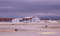 San Carlos Airport (SQL) - Panorama 4 of 4. - by Bill Larkins