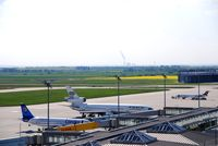 Leipzig/Halle Airport, Leipzig/Halle Germany (EDDP) - South-western view from visitor´s terrace - by Holger Zengler