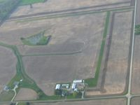 Green Field Airport (9IN8) - Looking NNW from 2500' - by Bob Simmermon