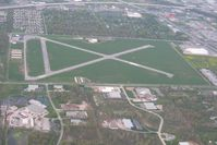 Smith Field Airport (SMD) - Looking south from 3000' - by Bob Simmermon