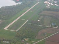 Huntington Municipal Airport (HHG) - View from the NE - by Bob Simmermon