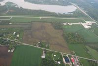 Huntington Municipal Airport (HHG) - Looking south from 3000' - by Bob Simmermon