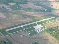 Lima Allen County Airport (AOH) - View from the SW - by Bob Simmermon