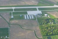 Lima Allen County Airport (AOH) - Looking north - by Bob Simmermon
