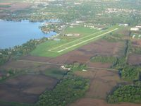 Fulton County Airport (RCR) - View from the east - by Bob Simmermon