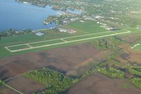 Fulton County Airport (RCR) - Looking SW from 2500' - by Bob Simmermon