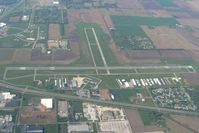 Porter County Regional Airport (VPZ) - Looking north - by Bob Simmermon