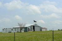 Hawkins Private Airport (TX98) - Hawkins Pirvate Airport hanger - by Zane Adams