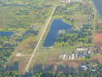 Toledo Suburban Airport (DUH) - Looking WSW from 4500' - by Bob Simmermon
