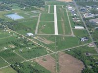 Livingston County Spencer J. Hardy Airport (OZW) - Looking SE down runway 13. - by Bob Simmermon