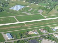 Livingston County Spencer J. Hardy Airport (OZW) - Looking NE - by Bob Simmermon