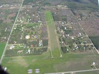 Home Acres Sky Ranch Airport (Y91) - Looking east from 4000' - by Bob Simmermon