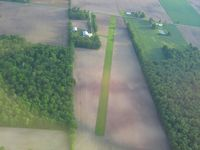 Erdy Farm Airport (1OA8) - Looking north from 2500' - by Bob Simmermon