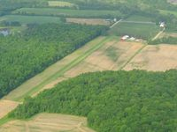 Bohannan Airport (2OH0) - Looking SW from 2500' - by Bob Simmermon