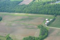 Bohannan Airport (2OH0) - Looking south from 2500' - by Bob Simmermon
