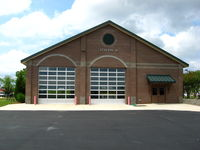 Athens/ben Epps Airport (AHN) - Airport fire station - by Connor Shepard