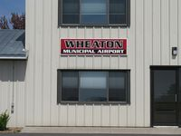 Wheaton Municipal Airport (ETH) - The relatively new Wheaton Municipal Airport sign. - by Kreg Anderson