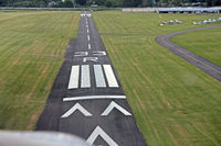 Harvey Field Airport (S43) - R33 With new runway markings - by Jill England