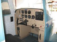Santa Paula Airport (SZP) - Link Trainer-Student's instrument panel-GAT-1 circa 1962 - by Doug Robertson