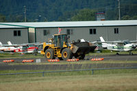 Auburn Municipal Airport (S50) - widening the taxiway - by Wolf Kotenberg