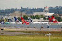 Boeing Field/king County International Airport (BFI) - New jets at BFI - by Micha Lueck