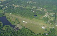 S & S Landing Strip Airport (8GA6) - Flying over S&S landing strip in N2586X at 1500 AGL. - by J. Michael Travis
