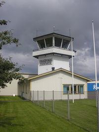 Falköping Airport - Tower - by Henk Geerlings